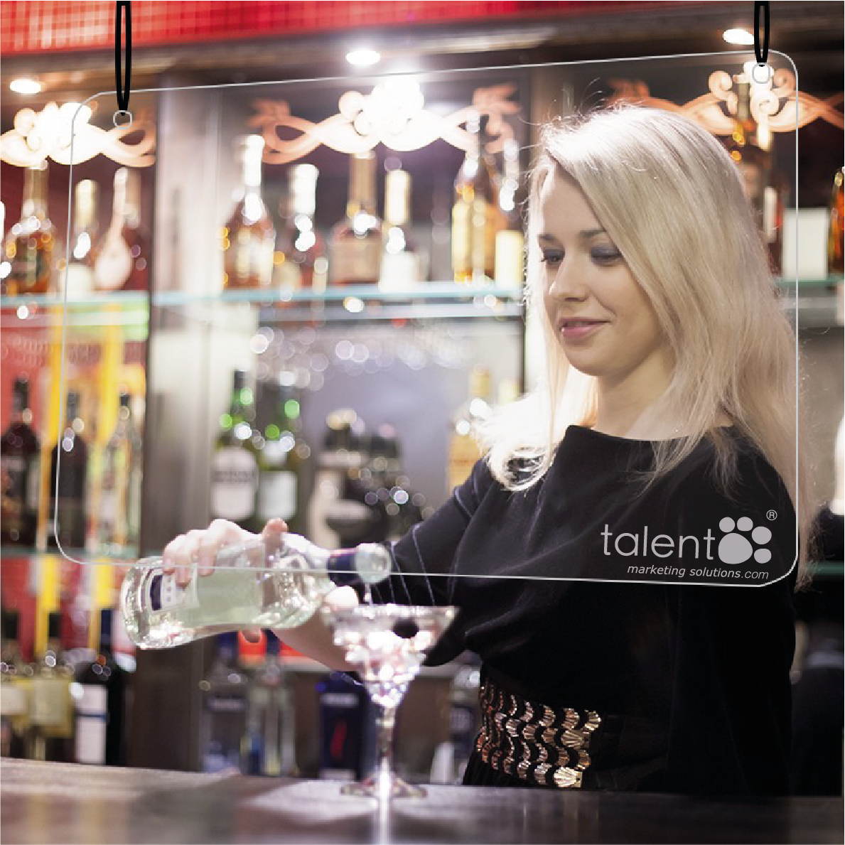 PANTALLAS COLGANTES -HOSTELERIA-TALENTOMARKETINGSOLUTIONS
